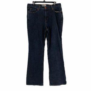 Levis Womens Denim Bootcut Jeans Size 16 Medium